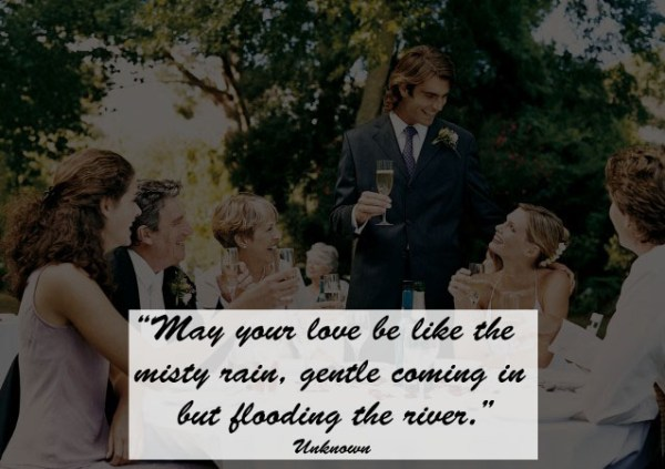 Great Quotes to Use as Wedding Toast 3 - 123WeddingCards