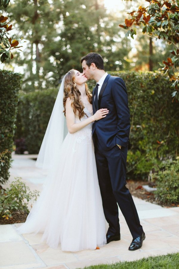Danielle Panabaker and Hayes Robbins wedding
