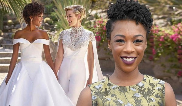 Samira Wiley and Lauren Morelli wedding