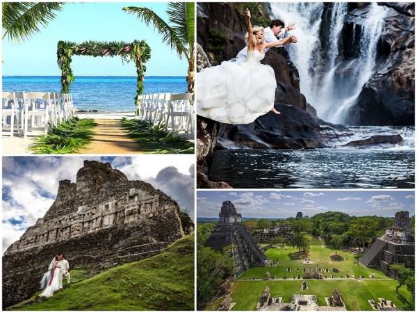 wedding destinations Belize suggest by 123WeddingCards