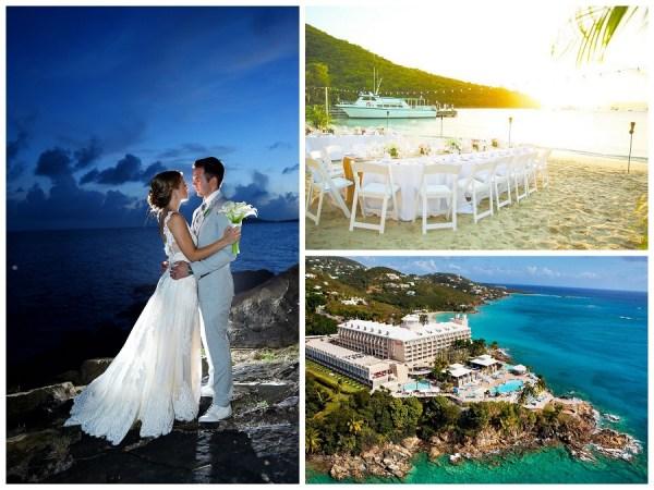 wedding destinations Virgin islands, US suggest by 123WeddingCards