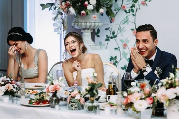 Big nose wedding toast