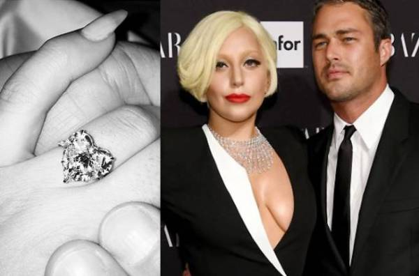 Lady Gaga and Taylor Kinney engagement ring