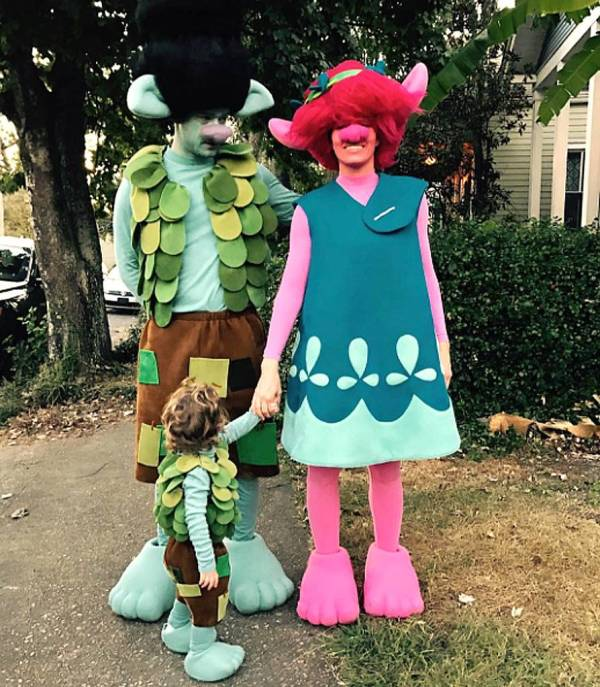 halloween dress of Justin Timberlake and Jessica Biel in 2016