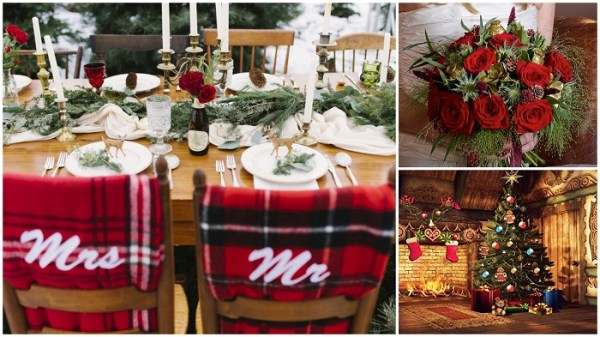 Christmas Ring.Ring Your Wedding Bells With These Christmas Wedding Ideas