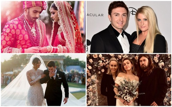 All Details Covered - Famous Celebrity Weddings of 2018 by 123WeddingCards