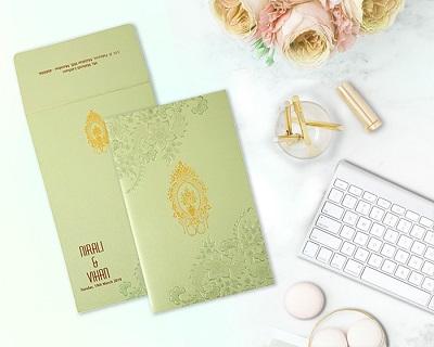 modern indian wedding invitation cards