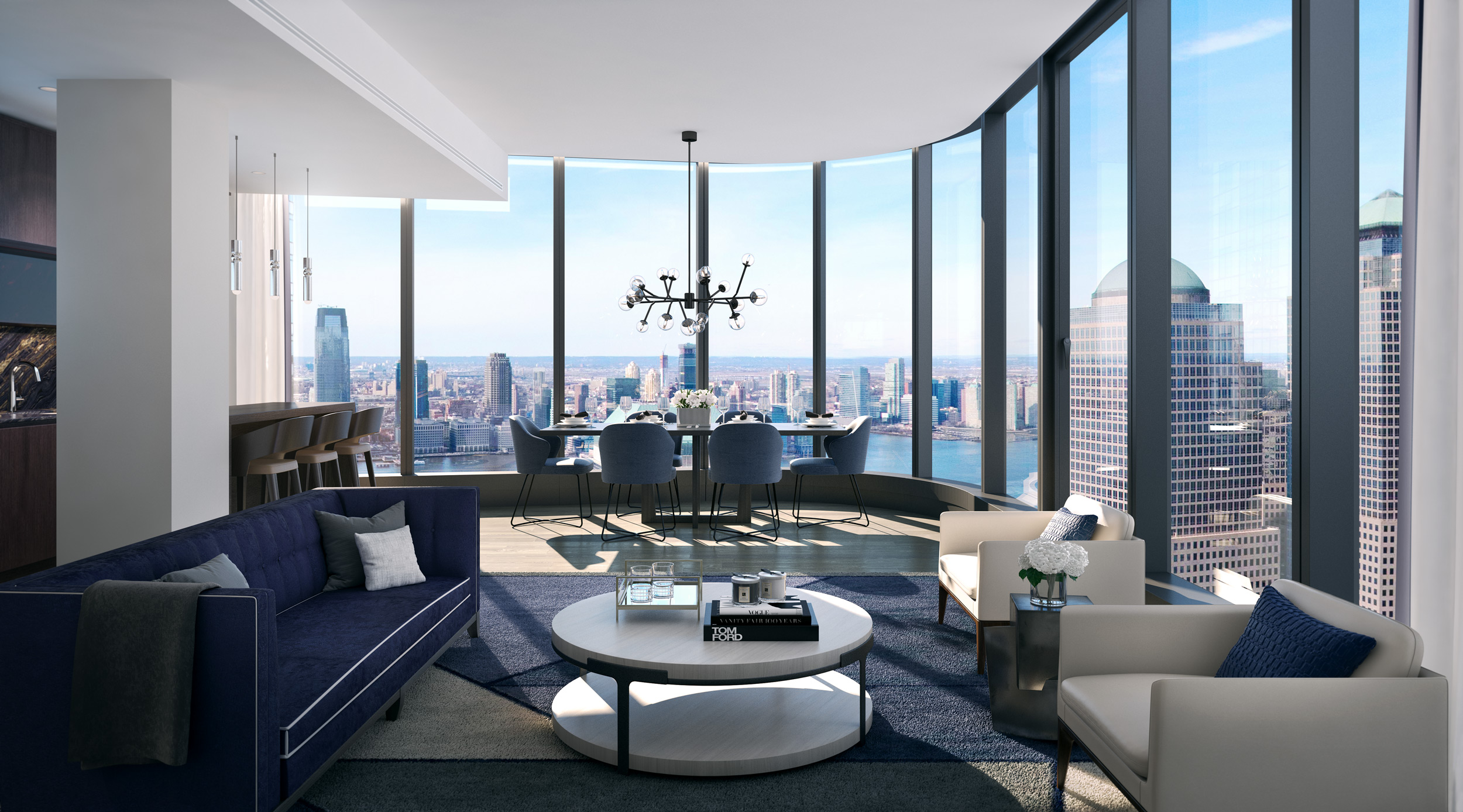 Residences 125 Greenwich Street Luxury For Sale Condos