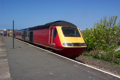 43092 seen at the sunny seaside resort of Newquay (c) Tony Shaw