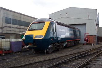 43193 seen at Brush in Loughborough after overhaul for Project Rio (c) Tony Shaw