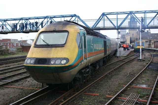 43043 at Lincoln upon arrival from Nottingham for a Christmas Market Special (c) Dave Mulligan