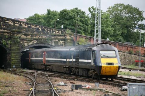 A GNER set is seen getting closer to home at Sheffield (c) Dave Mulligan