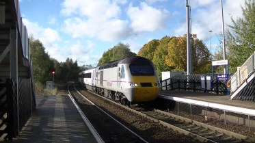 43290 seen at Metrocentre (Newcastle) whilst on a diverted East Coast Anglo-Scottish service via Carlisle (c) Thomas Pye