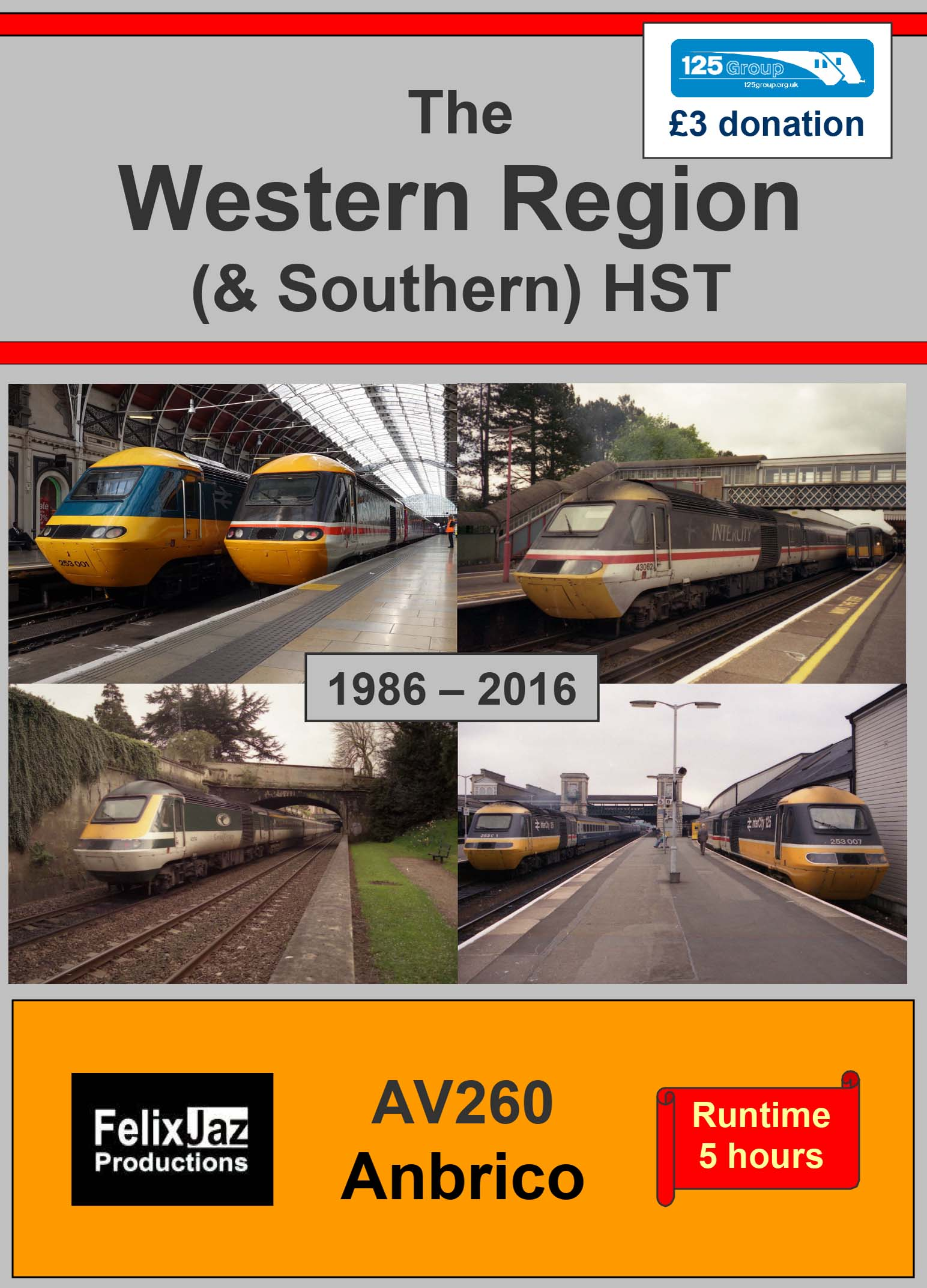 AV260 The Western (and Southern) Region HST – 4 DVD Set