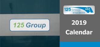 125 Group Desk Calendar 2019