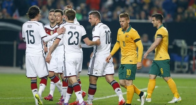 australia vs germany