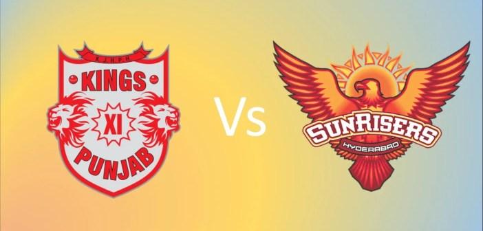 Kings XI Punjab vs Sunrisers Hyderabad