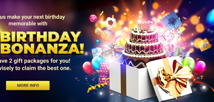 Receive massive rewards through 12BET Birthday Bonanza