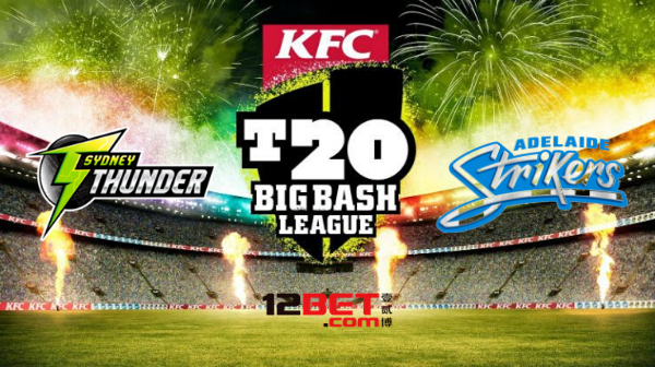 12BET-Predictions-BBL-Sydney-Thunder-vs-Adelaide-Strikers