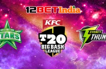 12BET-India-Cricket-Prediction-BBL-Melbourne-Stars-vs-Sydney-Thunder