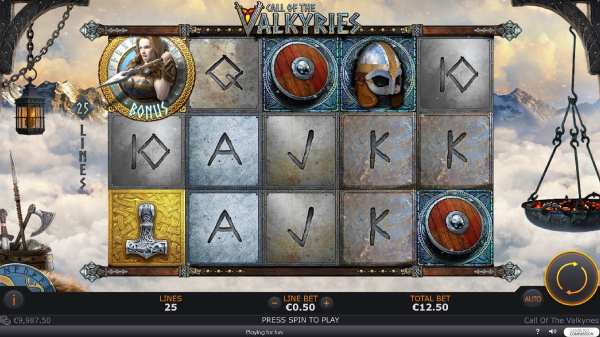 Call of the Valkyries slot game