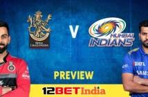 12BET Predictions IPL 2020 Match 10 Royal Challengers Bangalore Vs Mumbai Indians