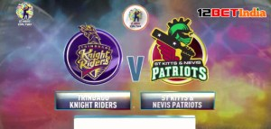 CPL T20 Match Preview: Trinbago Knight Riders vs St Kitts and Nevis Patriots