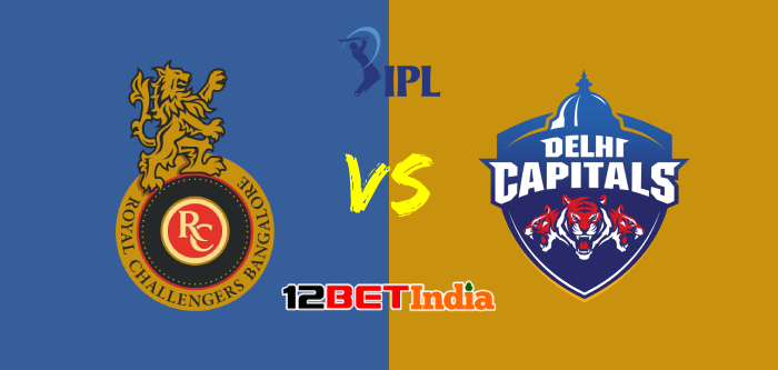 12BET Predictions IPL 2020 Match 19 Royal Challengers Bangalore Vs Delhi Capitals
