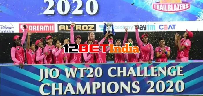 12BET India News Trailblazers beat Supernovas to clinch Women's IPL Challenge trophy