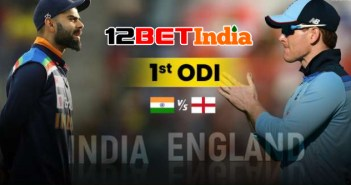 12BET Predictions India vs England first ODI match