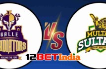 12BET Predictions PSL 2021 Quetta Gladiators vs Multan Sultan