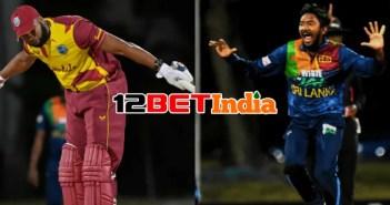 12BET Predictions West Indies vs Sri Lanka first ODI match