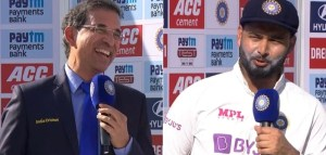You need to improve your commentary Rishabh Pant's banter with Harsha Bhogle leaves fans in splits