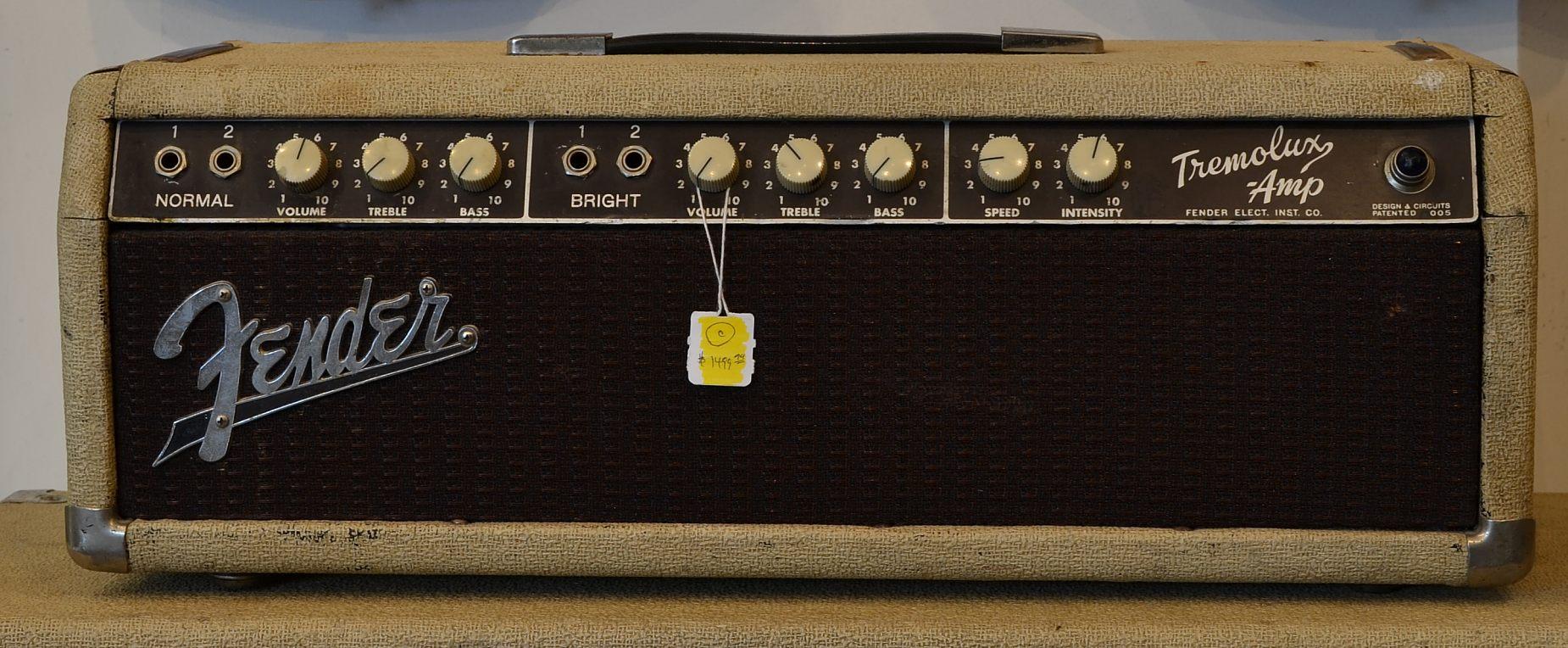 Fender Tremolux Head and Cab 1962  www12fretcom