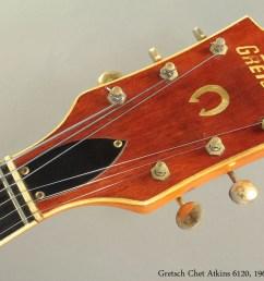 gretsch chet atkins 6120 1962 head front [ 1280 x 853 Pixel ]