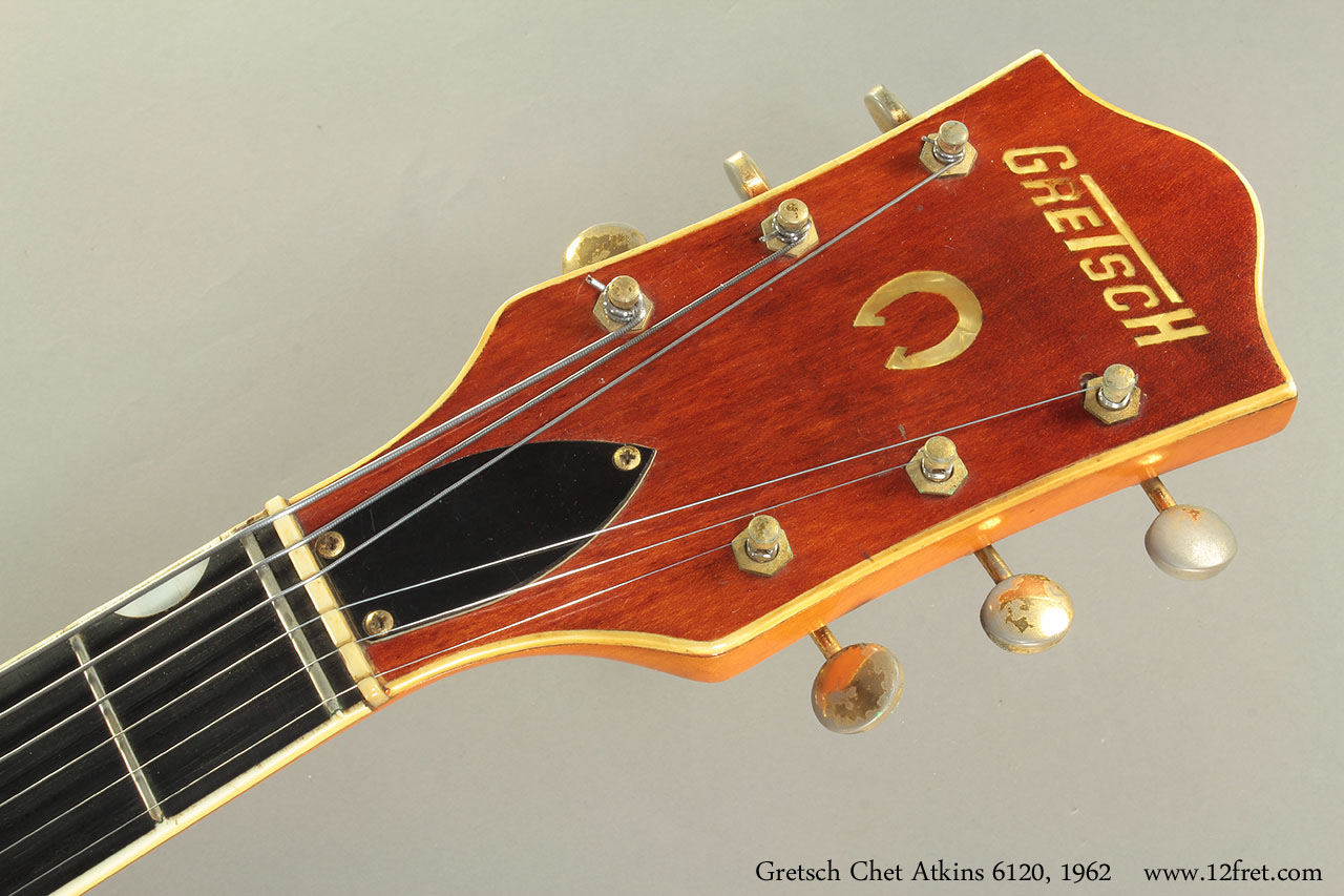 hight resolution of gretsch chet atkins 6120 1962 head front