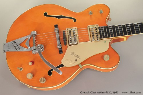 small resolution of gretsch chet atkins 6120 1962 top