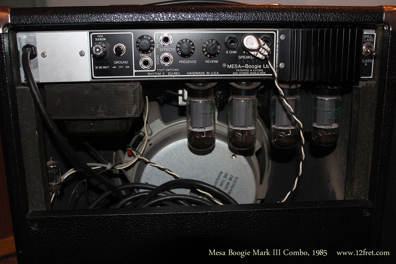 Mesa Boogie Mark Iii Combo Amplifier