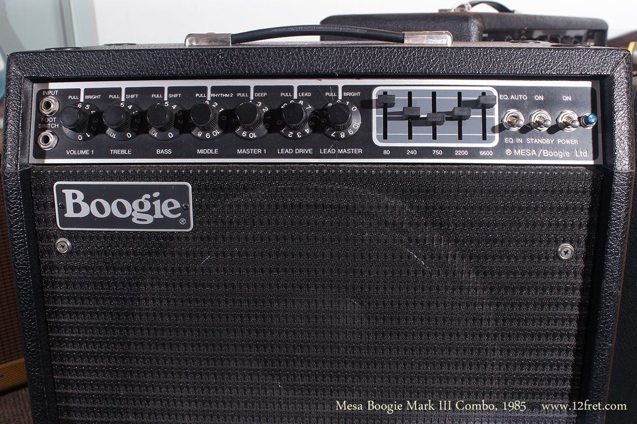1985 Mesa Boogie Mark III Combo Amplifier  www12fretcom