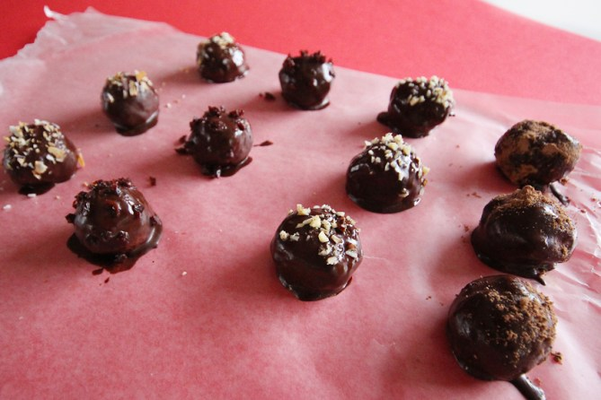 valentines day protein truffles recipe