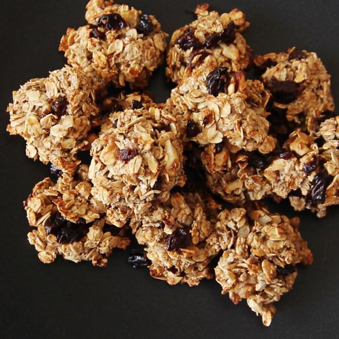 healthy 5 ingredient oatmeal cookies
