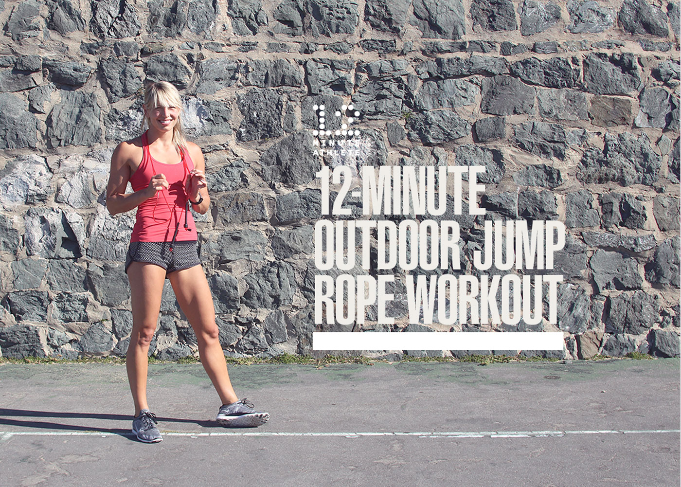 Outdoor Jump Rope HIIT Workout (+ Video!)