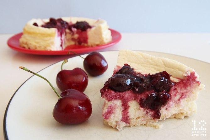 Cherry protein cheesecake recipe