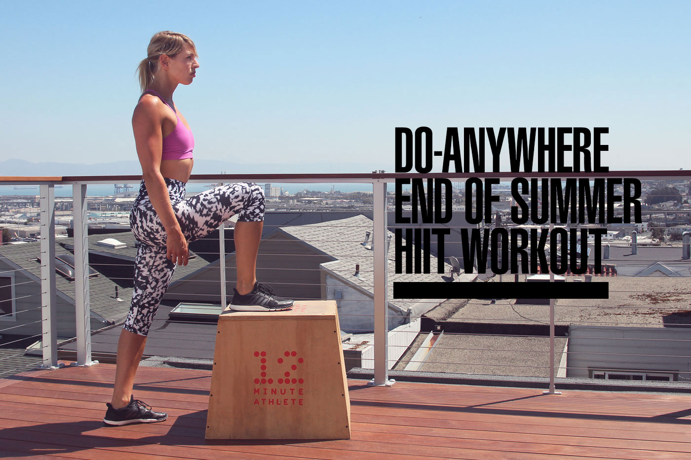 Do-Anywhere End of Summer HIIT Workout (+ A HIIT Workout Challenge!)