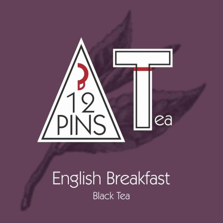 English Breakfast Black Tea Label