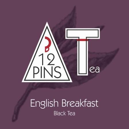 English Breakfast Black Tea Label