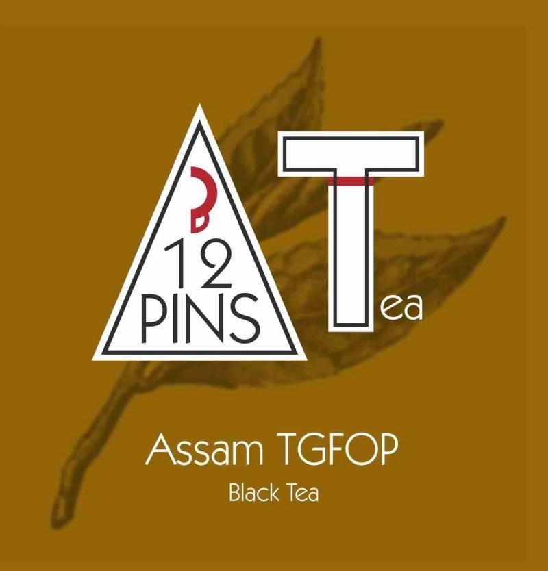 Assam TGFOP Black Tea Label