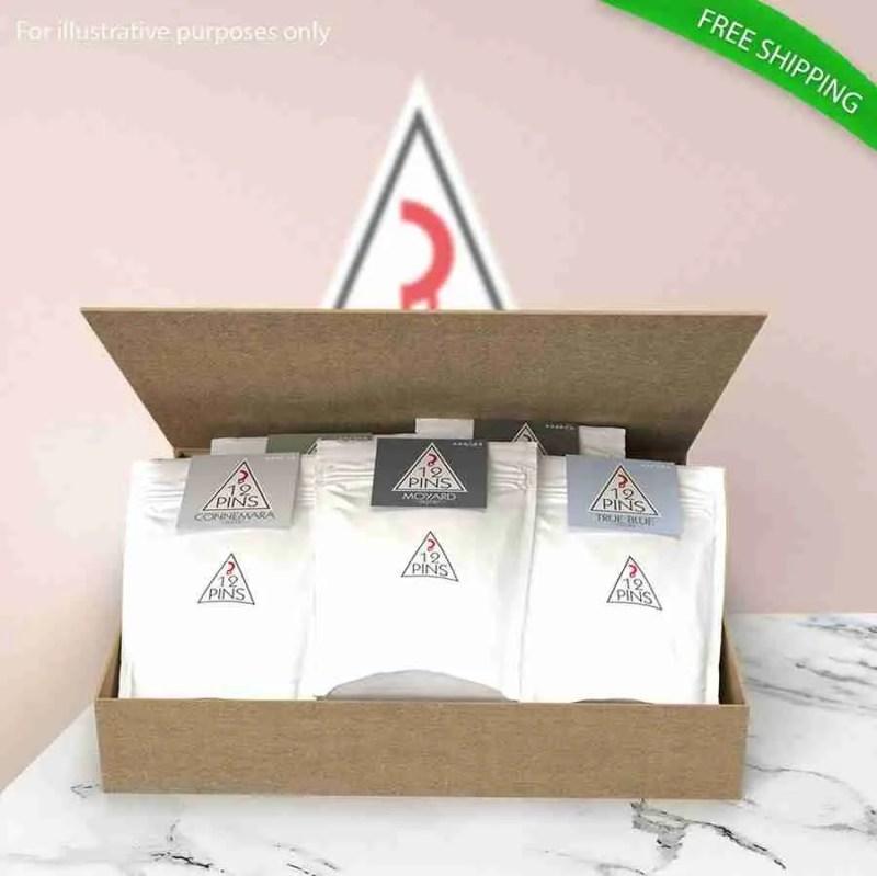 12 Pins Coffee varieties gift pack