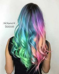 Colorful Hair Looks To Inspire Your Next Dye Job Of ...
