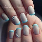 amazing french tip nail design